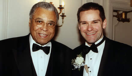 James Earl Jones and me