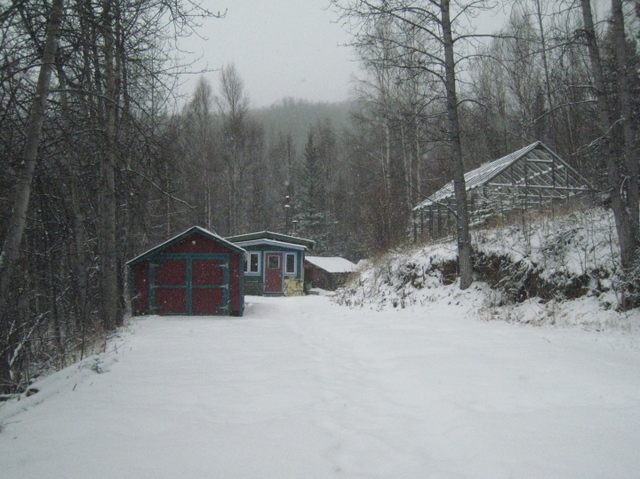 John Haines' homestead on the Richardson Highway